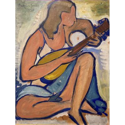 Balbino Giner Mandolin Player 1957