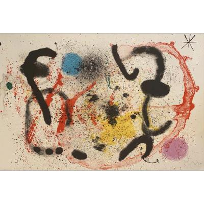 Joan Miró (1893-1983) - The Ritual Combat 1964