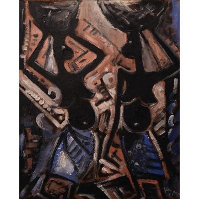Floris Jespers (1889-1965) - Porteuses De Paniers, 1954
