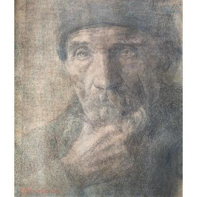 Pierre Puvis De Chavannes - Portrait d'Homme