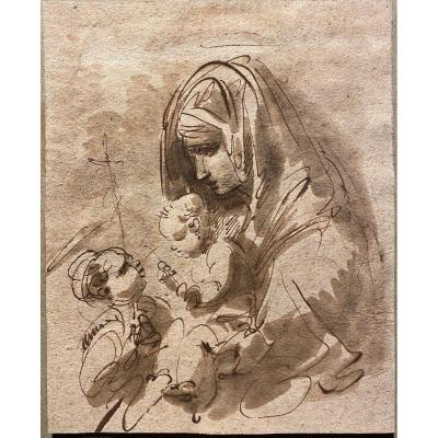 Giuseppe Bernardino Bison - Vierge à l'Enfant