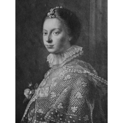 Lady Erskine, Rare Mezzotint By James Watson, Circa 1759