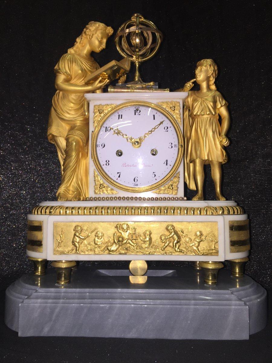 ETUDE DE L'ASTRONOMIE , EPOQUE LOUIS XVI , HT 43.