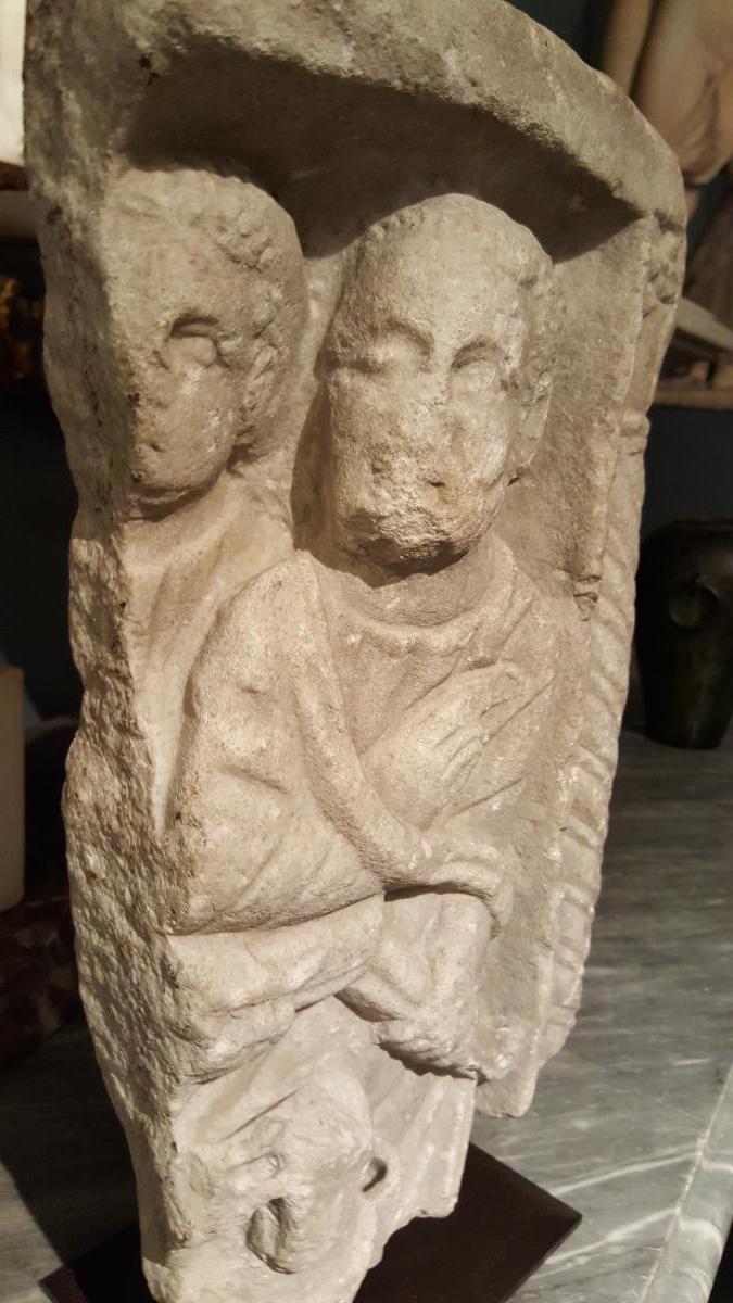Element De Sarcophage Romain