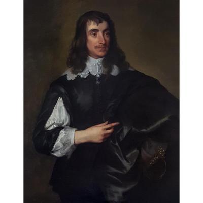 Portrait Du Vicomte De Stafford, XVIIIe Siècle