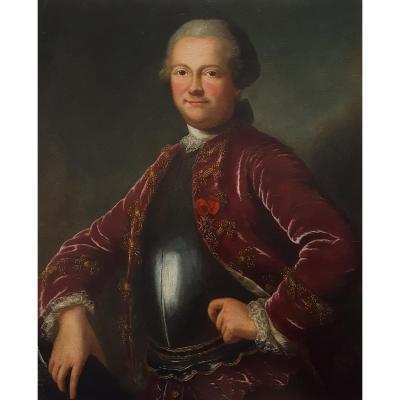 Portrait De Claude-rené Pâris, Comte De Soulanges (1736-1795)