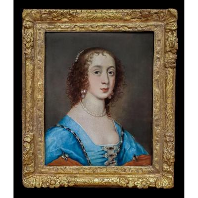 Portrait d'Elizabeth Cavendish, Comtesse De Devonshire (1619-1689), 17e Siècle