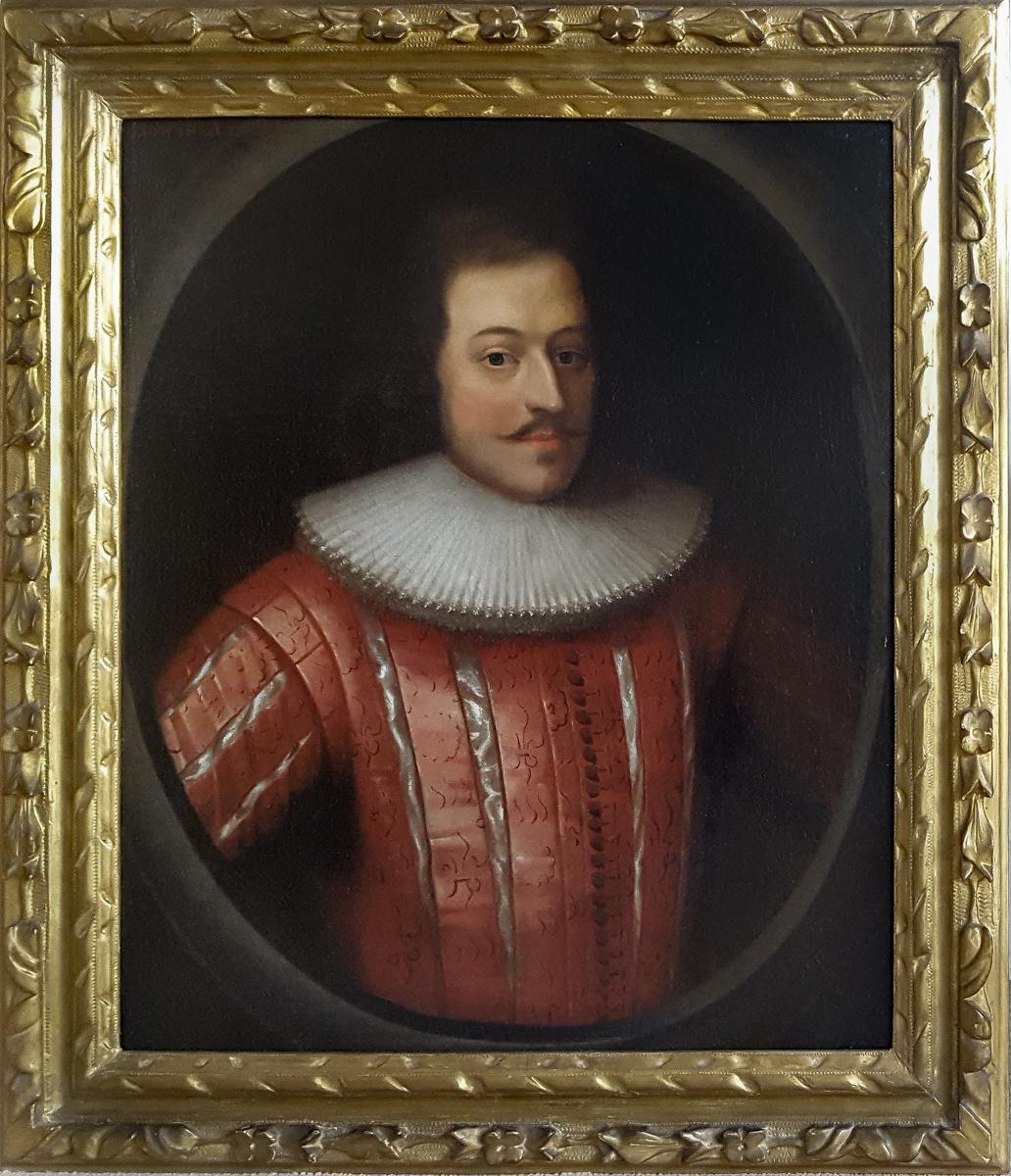 Portrait De Lewis Anwyl (1596-1641 Env.) - XVIIIe Siècle