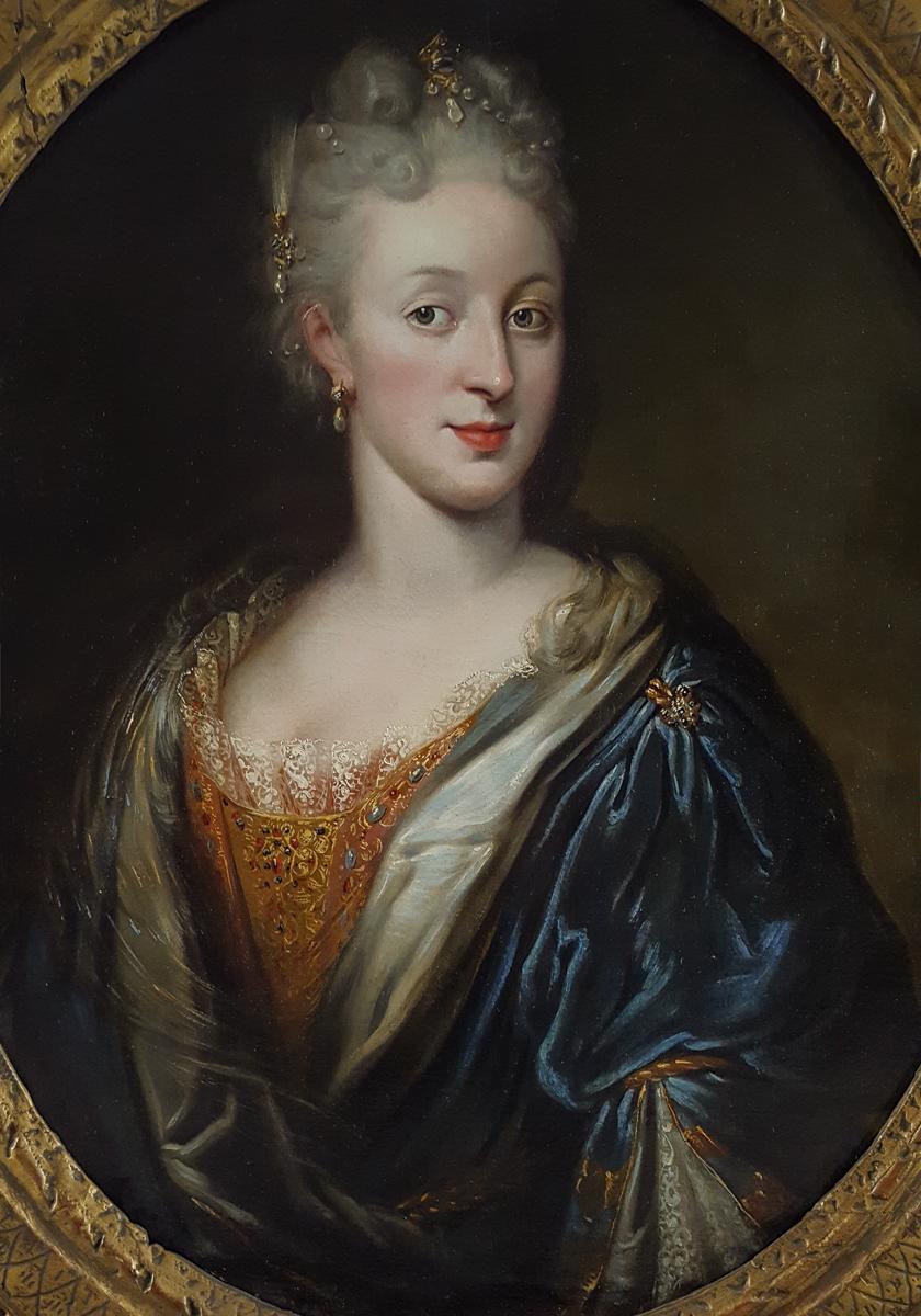 Portait De Dame, Française Vers 1720