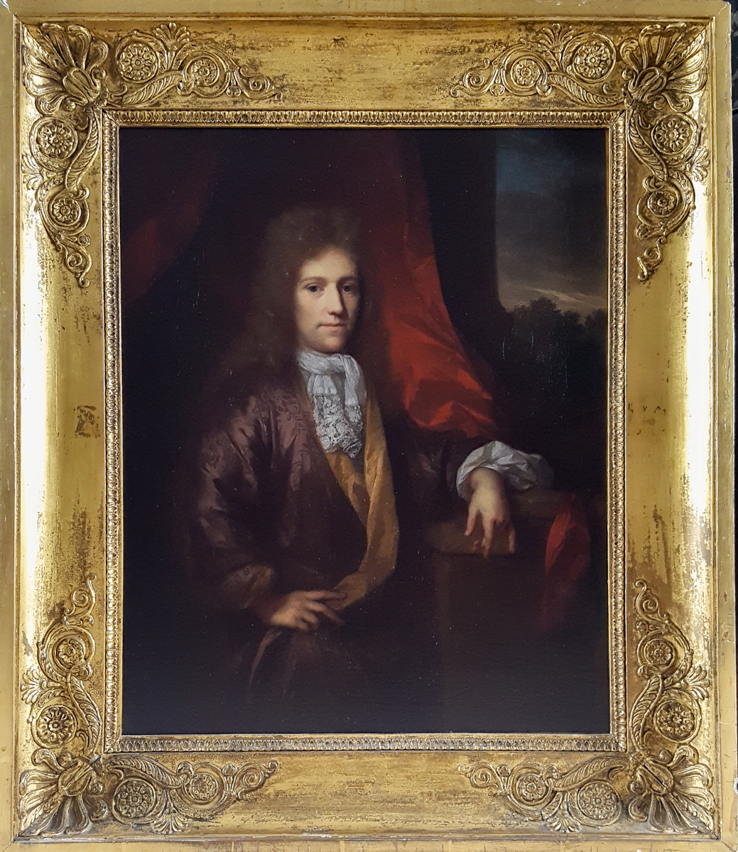 Portrait d'Un Gentleman, Signé & Daté De 169?