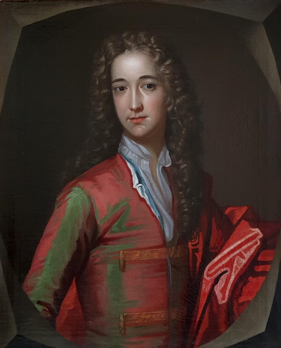 Portrait De John Baines Vers 1680