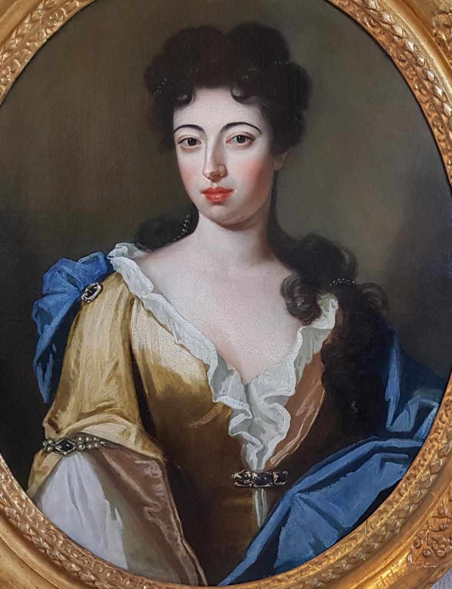 Portrait De Femme Vers 1690