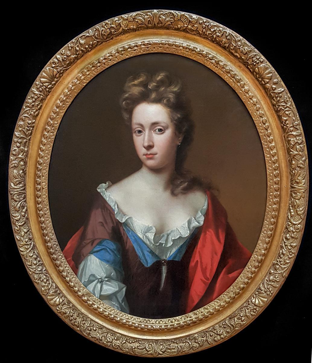 Portrait d'Une Dame De La Famille Graves Vers 1695