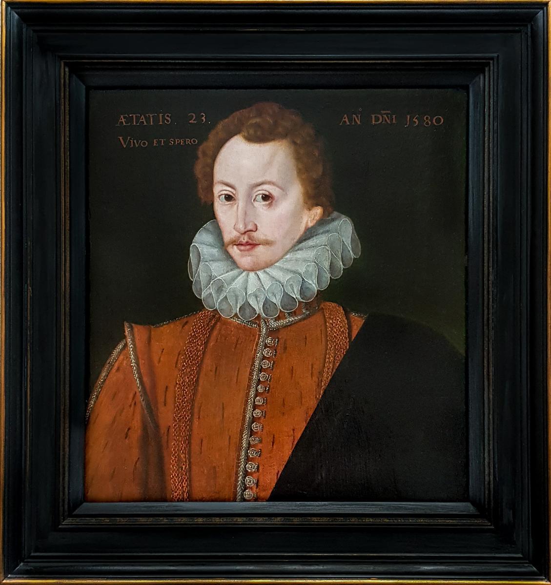 Portrait d'Un Gentleman Vers 1580