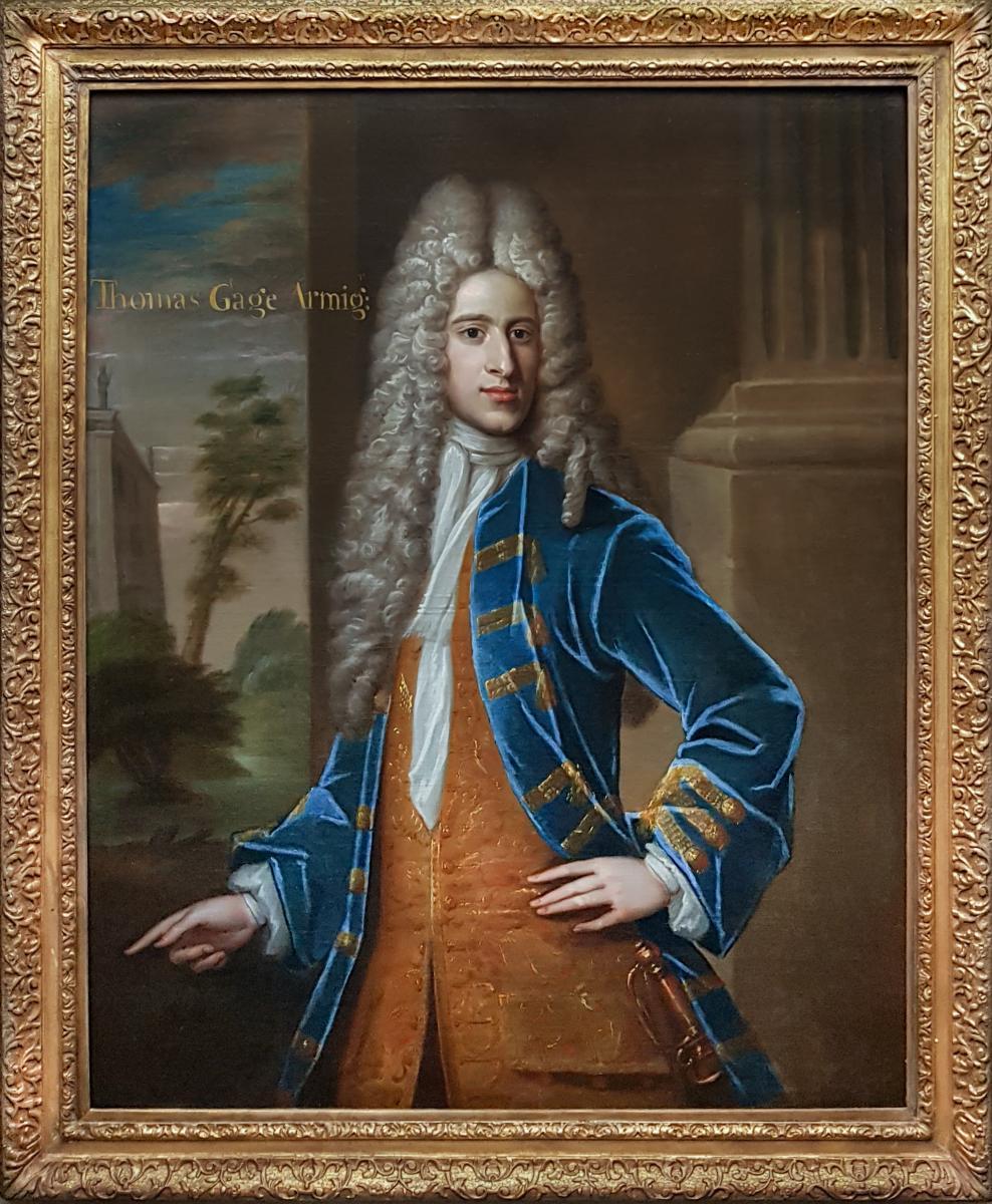 Portrait De Thomas Gage (c.1684-1716) Vers 1709