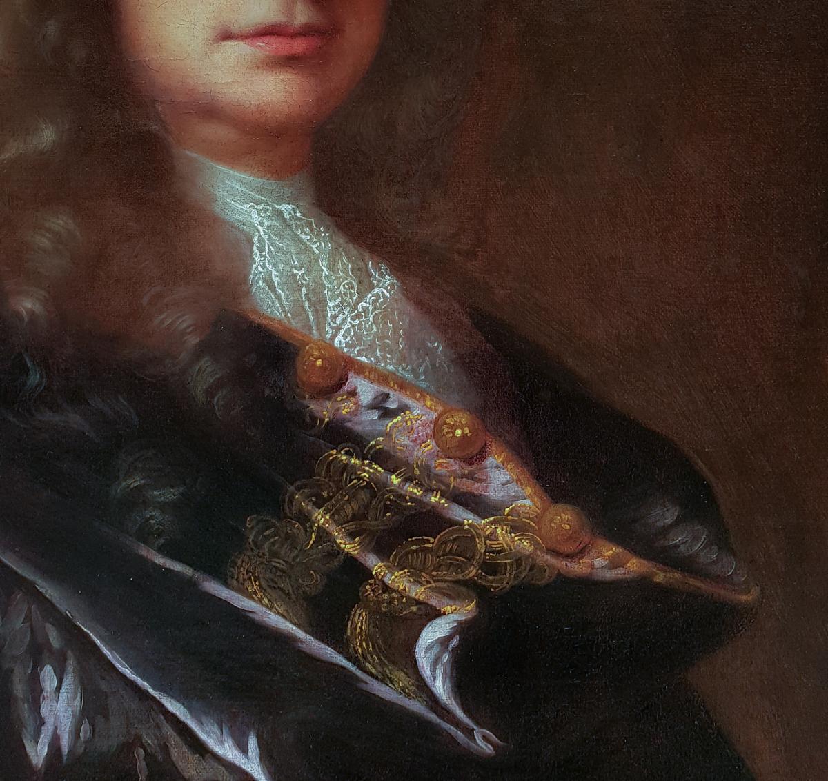 Portrait d'Un Gentilhomme Vers 1715