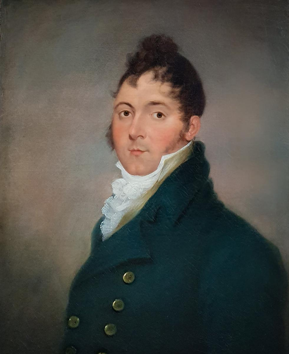 Portrait Of A Gentleman C.1809; Circle Of Charles Howard Hodges (1764-1837)