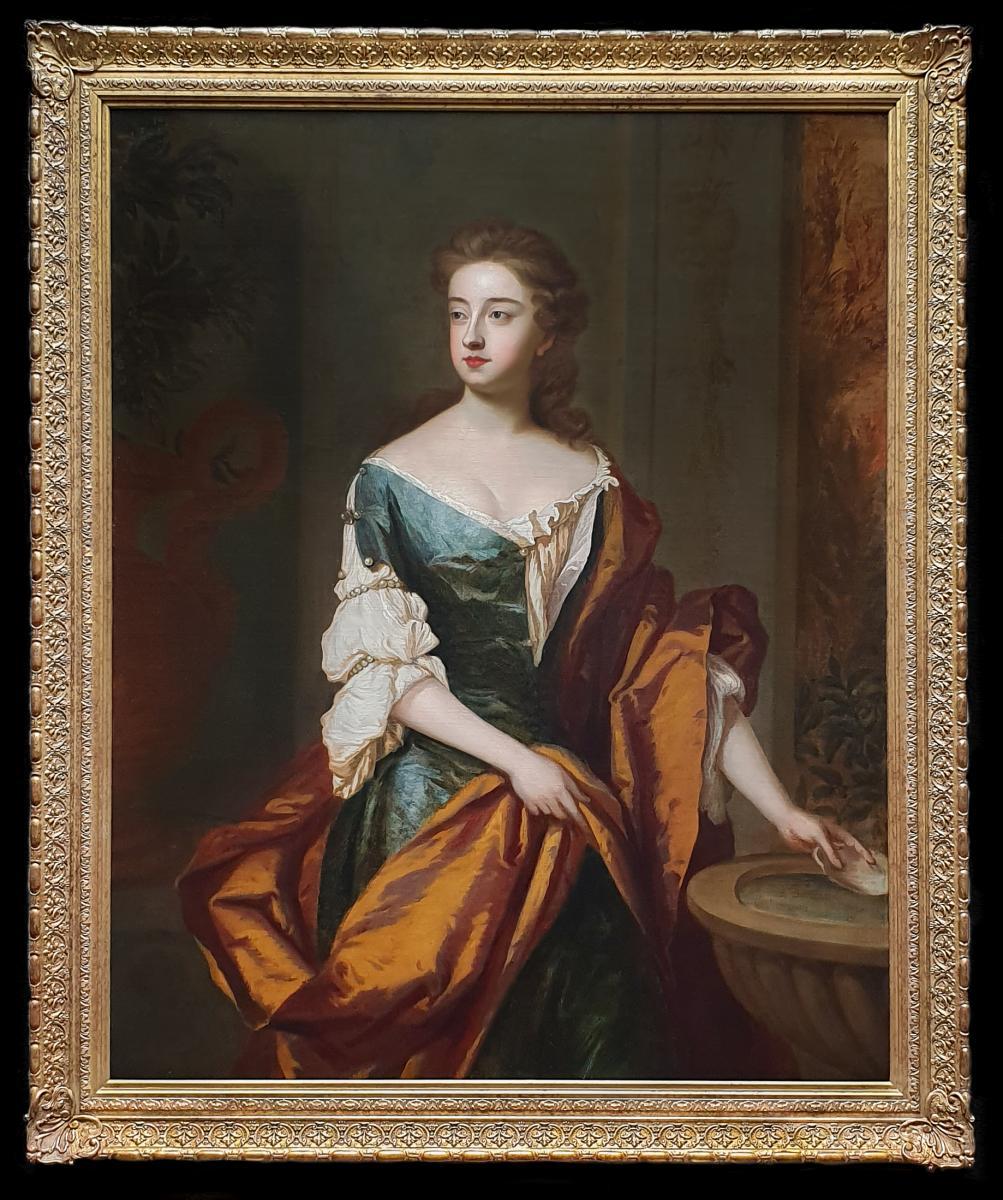 Vers 1691 Portrait d'Isabelle, La Duchesse De Grafton (vers 1688-1723)