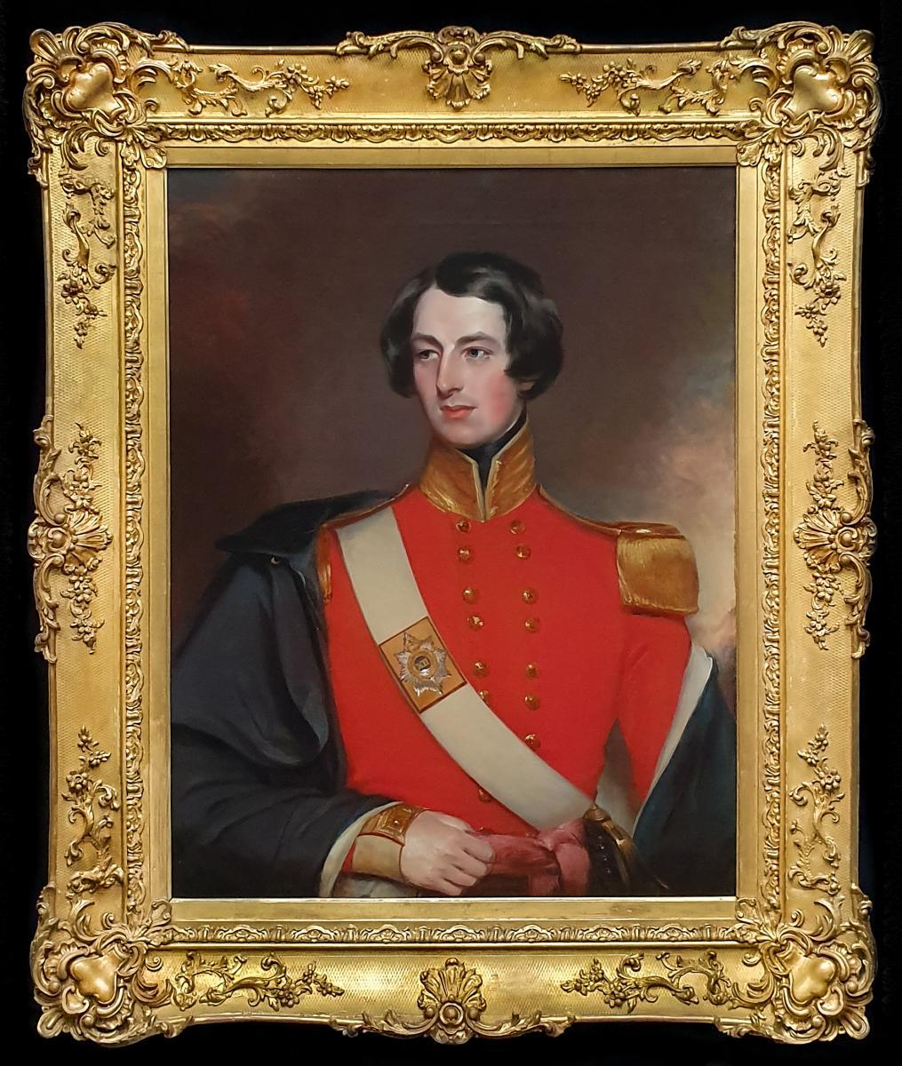 Portrait De Robert George Duff (1817-1890) Vers 1836
