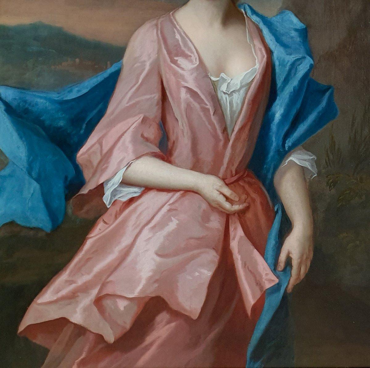 Portrait De Mary Davison, Lady Eden (c.1710-1794), Vers 1725