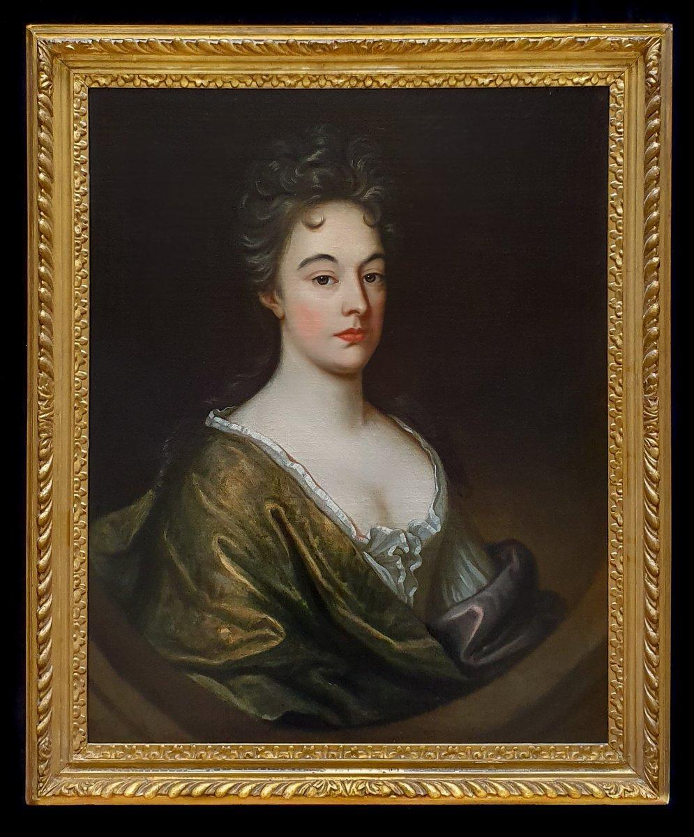 Portrait d'Une Dame Vers 1700, Provenance Manoir