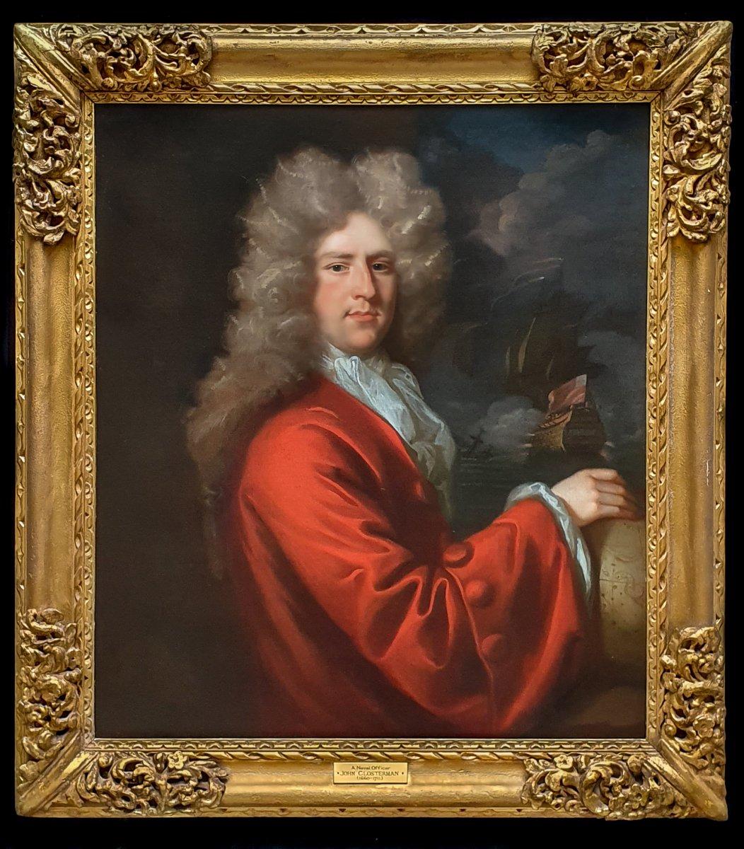Portrait d'Un Capitaine Sir John Munden (c.1645-1719) Vers 1692