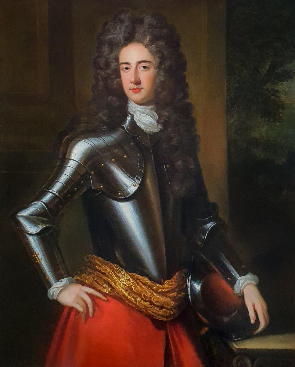 Portrait De John Churchill, 1er Duc De Marlborough (1650-1722) Vers 1695