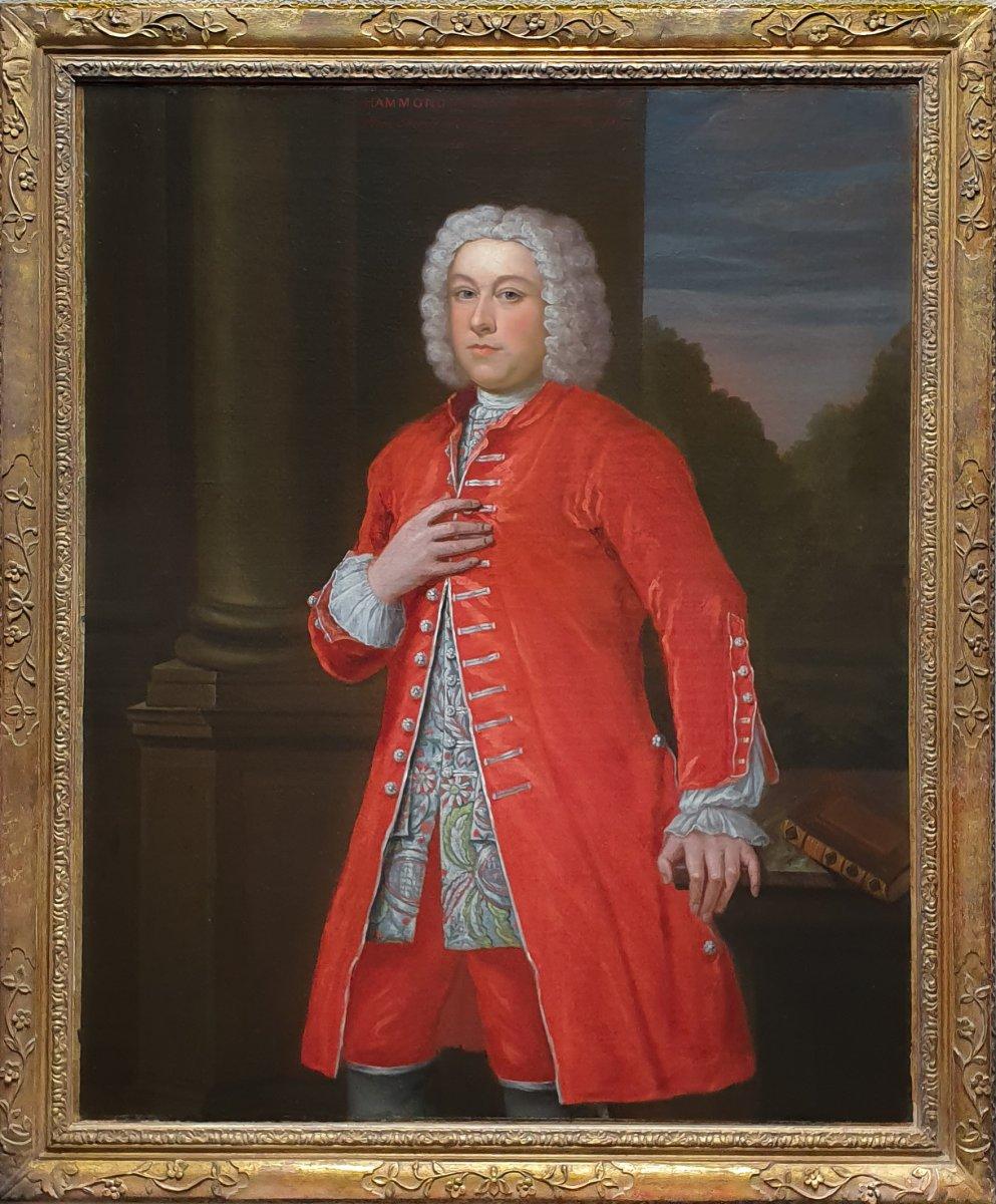 Vers 1744 Portrait De Hammond Crosse (1703-1785)