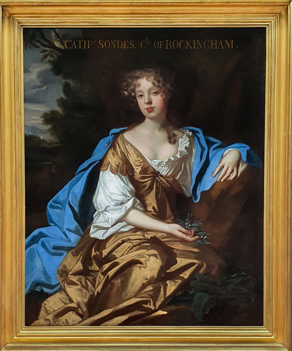 Portrait De Catherine Watson, Comtesse De Rockington (1658-1695) Vers 1677