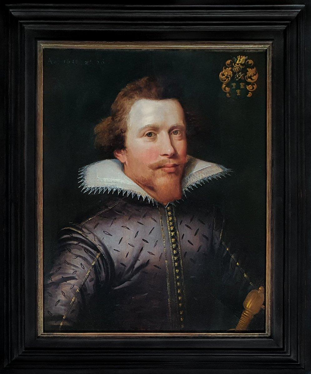 Portrait De Jan Van Reynegom (1584-1640), Daté 1612