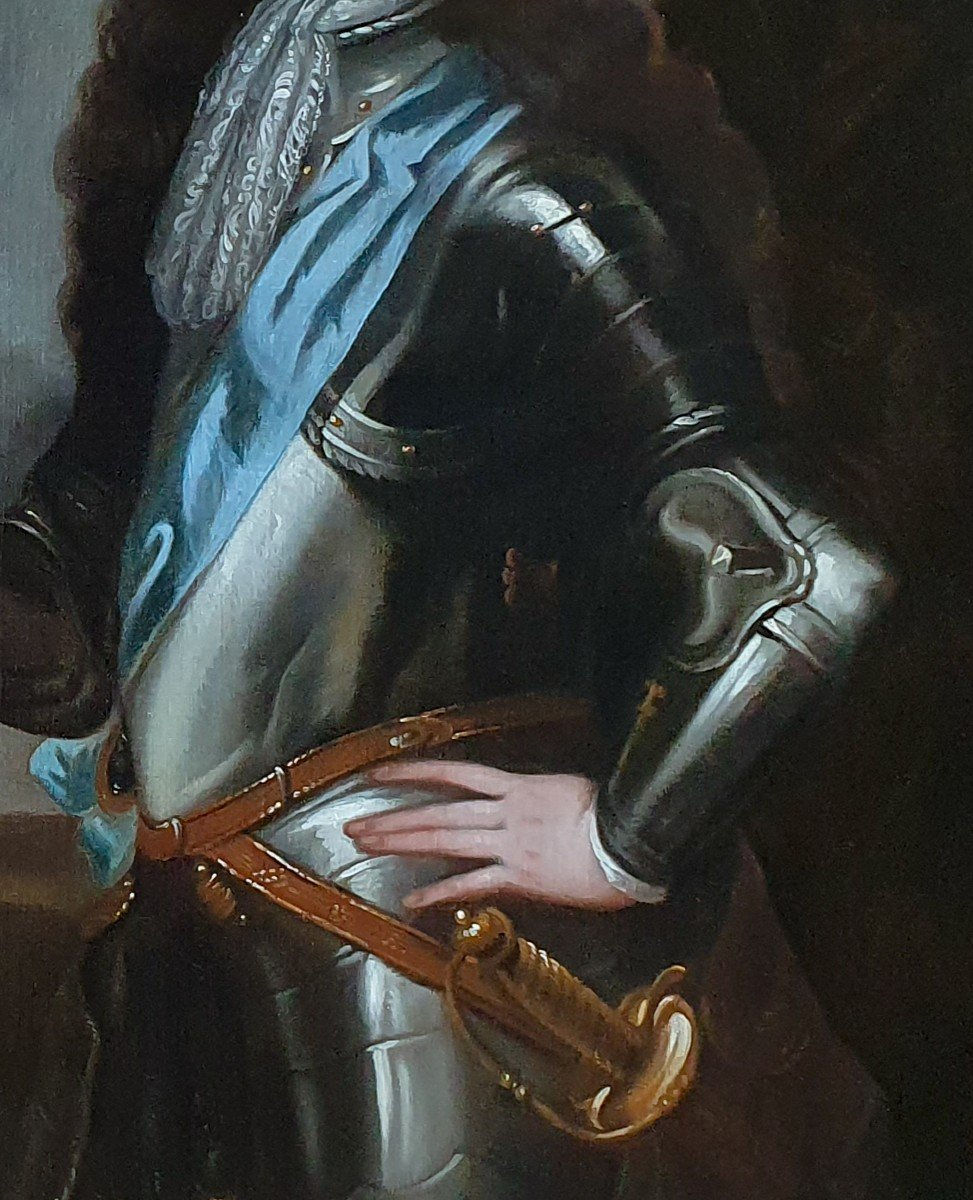 Portrait Of King William III C.1700; Studio Of Sir Godfrey Kneller (1646-1723)-photo-1