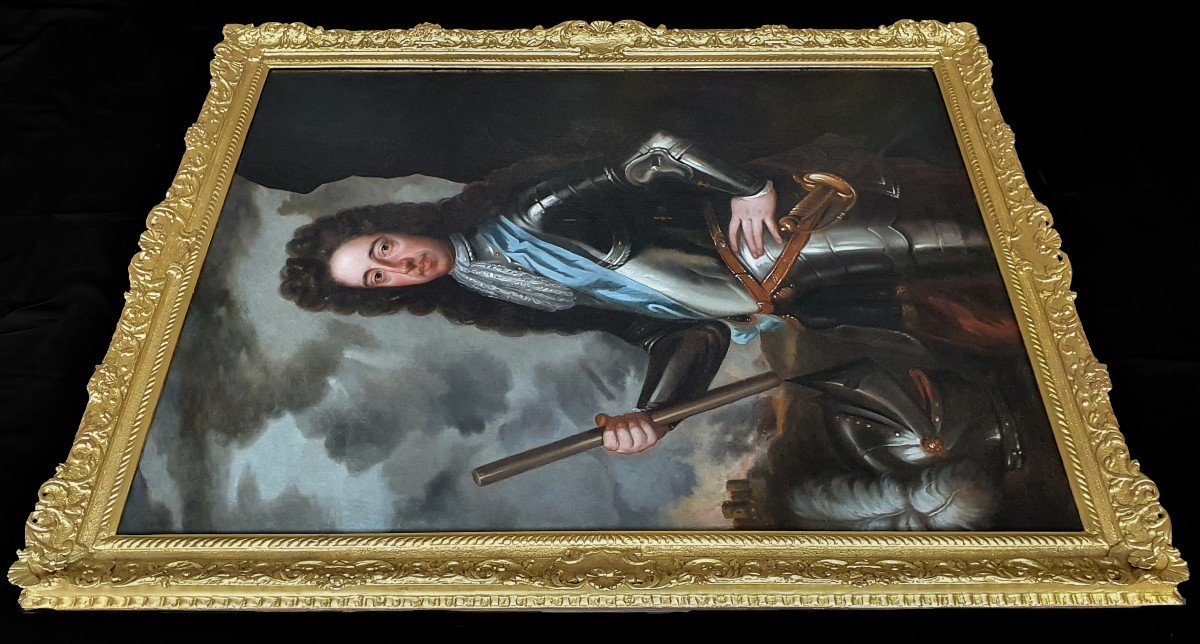 Portrait Of King William III C.1700; Studio Of Sir Godfrey Kneller (1646-1723)-photo-4