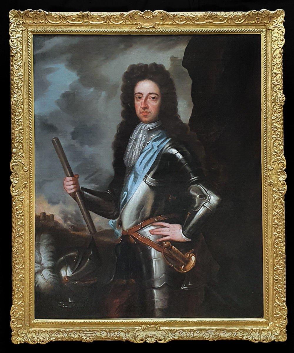 Portrait Of King William III C.1700; Studio Of Sir Godfrey Kneller (1646-1723)
