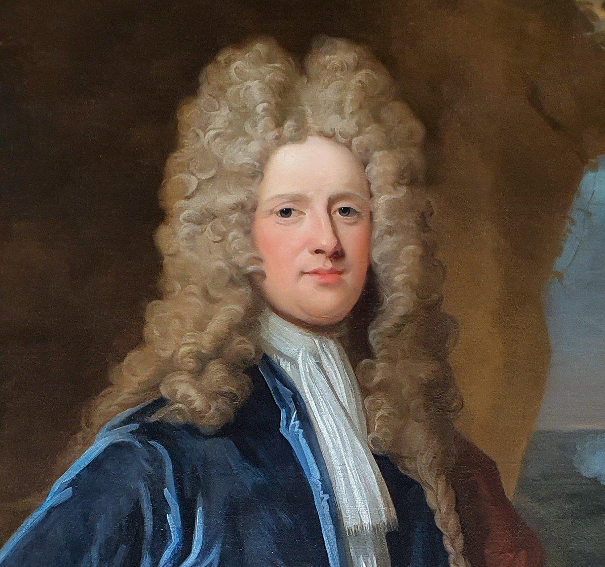 Vers 171 Portrait Du Capitaine James Monypenny (1670-1721)-photo-1
