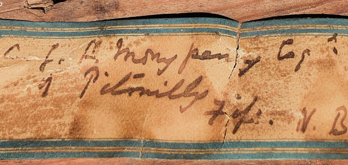 Vers 171 Portrait Du Capitaine James Monypenny (1670-1721)-photo-5