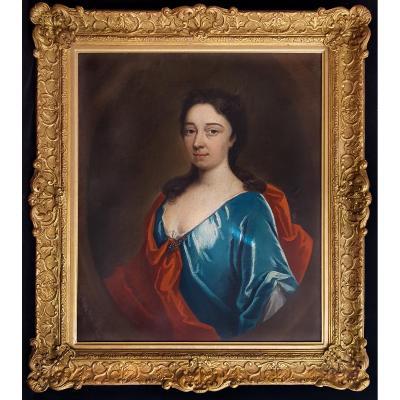 Portrait D'une Dame, V. 1720