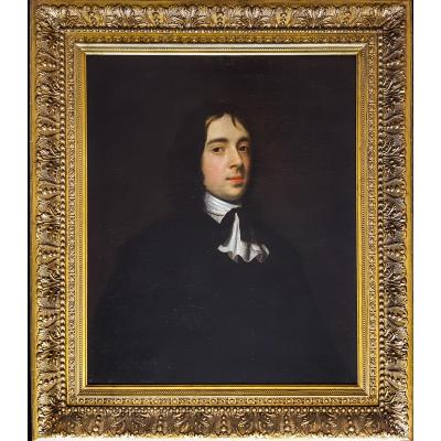 Portrait Of A Gentleman, French Dated 1656
