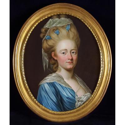 Portrait d'Une Dame, Suède, Vers 1770