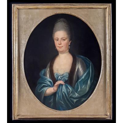Portrait D'une Lady, Circa 1780