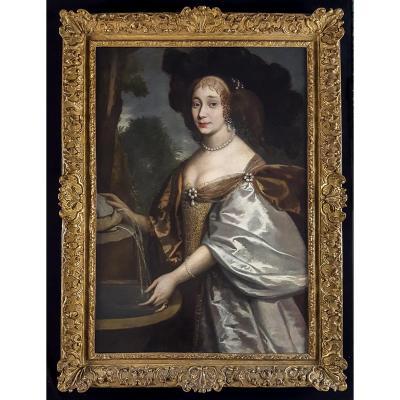 Portrait D'une Femme, France, Vers 1660