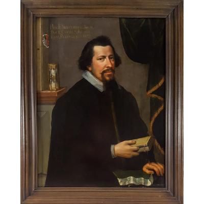 Portrait Du 17e Siècle Par Heinrich Francken Sierstorpff
