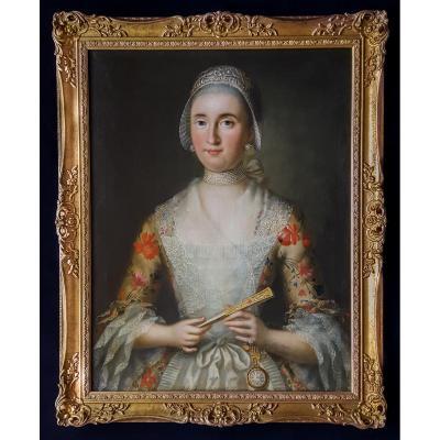 Portrait D'une Dame, 18e Siècle
