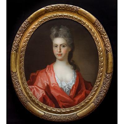 Portrait D'une Dame, 17e Siècle