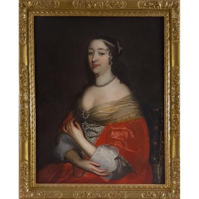 Portrait d'Une Dame, Français C.1660