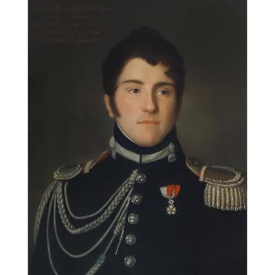 Portrait Du Marquis De Beaucaire – Début Du XIXe Siècle