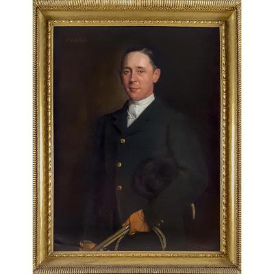 Portrait De Reginald Raymond-barker (1875 - 1939), Datant De 1912