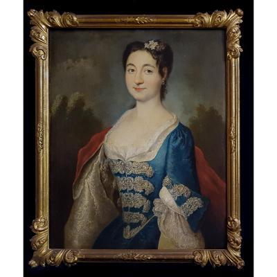 Portrait De Femme, XVIIIe Siècle