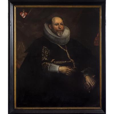 Portait De Gentilhomme, Flamand Vers 1620