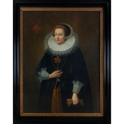 Portrait d'Une Dame Vers 1620