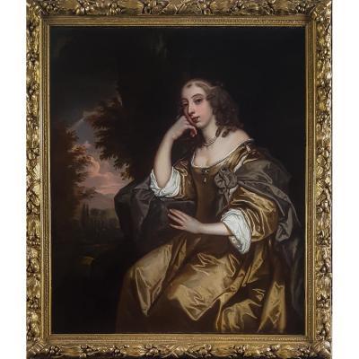 Portrait De Lady Lane Carey, 17ème Siècle